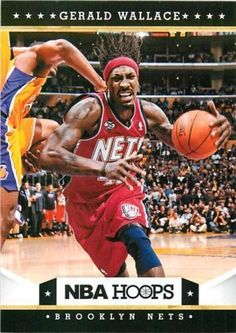 Gerald Wallace 2012 NBA Hoops #13 Brooklyn Nets Alabama Crimson Tide