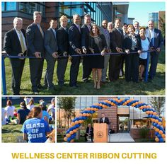 It was a beautiful day for the @wsuwellnessctr ribbon cutting ceremony! Check out the gallery on our Facebook page. Link in our bio. #historicday #woostate #woofit #worcesterstate
