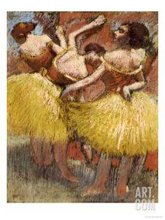 Three Dancers, 1900 Degas