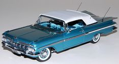 Classic Car News Pics And Videos From Around The World Chevrolet Impala 1959, Best Muscle Cars, Danbury Mint, Convertible, Diecast Models, Car Show, Cool Toys, Scale Models, Luxury Cars