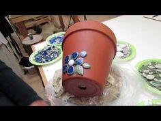 Easy Ceramic Flower Pot, part 1 - YouTube