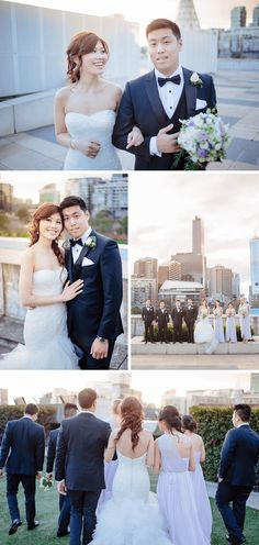 Melbourne Crown Casino Wedding Mercy + Andrew