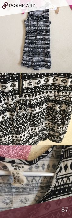 F21 Girls Romper selling for my sister ! nice Aztec style. 💕If you have any questions feel free to ask! ✨Item(s) will come with a free gift(s)!  🌸$3 off each item when bundled! 🚫No Trades/PayPal 💖Don't forget to leave a rating or love note after purchasing! I would love to see if you enjoyed your items or not! 🤑There will be sales like BOGO FREE, 3 for $10, etc so keep track of my closet!  🇵🇭Happy Poshing! Forever 21 Tops