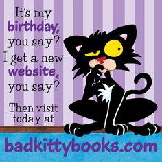 badkittybooks.com   #BadKittyBooks!