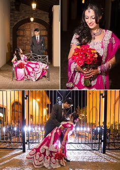 Love, love, love.  Deepika + Chirag | Hindu Wedding at Casa Real