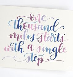 37 Brush Letter Quotes to Practice With - Happily Ever After, Etc. calligraphy quotes 37 Brush Letter Quotes to Practice With Calligraphy Quotes Doodles, Brush Lettering Quotes, Brush Pen Calligraphy, How To Write Calligraphy, Calligraphy Handwriting, Calligraphy Letters, Penmanship, Islamic Calligraphy, Watercolor Calligraphy Quotes