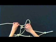 How to Tie a rope halter part 2