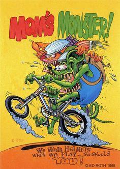 rat fink ed big daddy roth moms monster