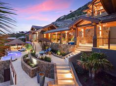 Poseidon's Perch Villa - Oil Nut Bay, BVI The architecture of this water palace was designed by OBM International to promote harmony with nature and inspire the  feeling of island living. The home's open, free-flowing layout and ample use of indoor-outdoor space brings a casual luxury and comfort that delights the senses.