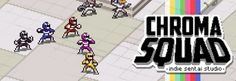 Tactical turn-based manager game, with sentai heroes and old-school pixel art. Manage your own sentai TV studio!