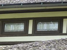 Henderson House windows