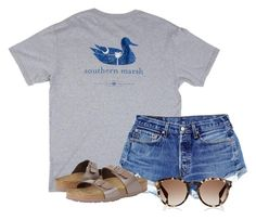 """""""Read d and please comment what u think"""" by flroasburn ❤ liked on Polyvore featuring Birkenstock and Fendi"""