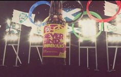 In connection with the 2012 London Olympic Games, Brewdog launched a beer made with ingredients sure to get an athlete banned from competition, called Never mind the anabolics,
