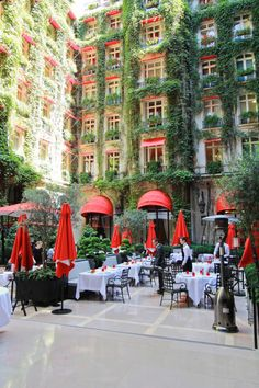 All things Europe - Plaza Athénée, Paris (by LostNCheeseland) Places Around The World, The Places Youll Go, Places To See, Around The Worlds, Paris Travel, France Travel, Urban Landscape, Landscape Design, Plaza Athenee Paris