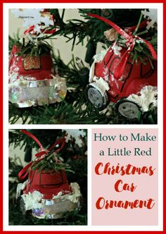 Now those of you who know me know I love to make Christmas Ornaments so I am thrilled to be part of the Ornament Exchange Blog Hop.  I especially like using clay pots.  I actually have a list of ones I want to design.  But when I saw all of the trucks and cars on Pinterest with a Christmas tree on the roof I knew instantly this year's ornament would be a car.  I am going to show you how to make a little red Christmas Car ornament.