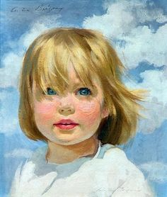 title unknown Ariane Beigneux – American) You can feel the sun and the wind! Portraits Pastel, Watercolor Portraits, Watercolor Paintings, Portrait Paintings, Acrylic Paintings, Watercolours, Painting People, Painting For Kids, L'art Du Portrait