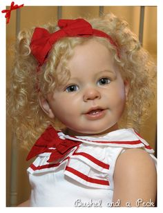 Beautiful Reborn PROTOTYPE Katie Marie, Toddler Baby Girl Doll by Ann Timmerman