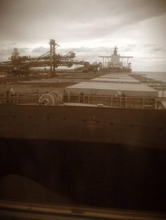 Iron Ore Capesize carriers Photography - Casey Scott