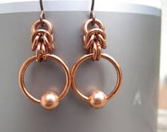 Image result for chainmaille earrings