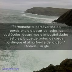 Permanencia, perseverancia y persistencia.