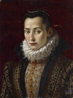 Lavinia Fontana - ritratto di nobildonna - 1590