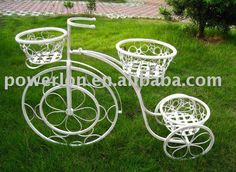 metal bicycle planter stand, View planter stand, Powerlon Product Details from Fuzhou Powerlon Arts And Crafts Co., Ltd. on Alibaba.com