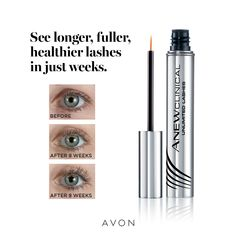 Serum, Brows, Eyeliner, Eyeshadow, Mascara, For Lash, Avon Representative, Skin Care Regimen, Deodorant