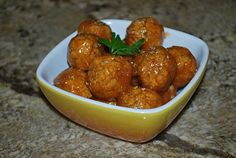 The Vegan Version: Sweet and Sour Chickpea Balls