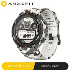 Welcome to Alex Sport store where you can buy Amazfit T-rex smart watch for sport. We offer perfect quality running smartwatch T-rex amazfit for man. Latest Smartwatch, Sport Smartwatch, Apple Smartwatch, Bluetooth, Camouflage Colors, Samsung, Fitness Bracelet, Online Yoga, Smart Bracelet