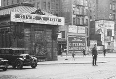 Depression-era Manhattan 1933