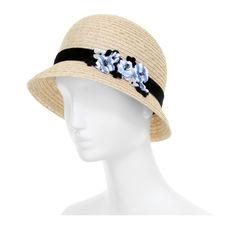 Maison Michel Hat in Beige (straw) | Lyst