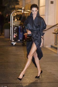 Whoops! Alessandra Ambrosio proved even top models suffer wardrobe malfunctions on Sunday,...