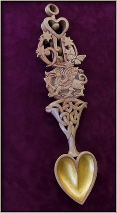 Welsh Love Spoons | Woodworking ideas