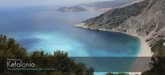 """The most breathtaking beaches in the Ionian Sea: The #island of #Cephalonia or #Kefalonia in the past also known as Kefallinia or Kephallenia is the largest of the #Ionian Islands in western #Greece. The most #famous #bays are those of #Sami, #Myrtos, #Lourda, #Atheras, #Fiskardo, #Livadi and of #Argostoli. The beaches are mostly rocky and vertical from the side of Ionion Sea whereas they are more """"peaceful"""" at the east side. Copyright © Ellines.com"""