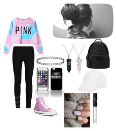"""""""Untitled #25"""" by itsle-hi ❤ liked on Polyvore featuring Chicnova Fashion, Converse, Y-3, Bling Jewelry, NARS Cosmetics and Talbots"""