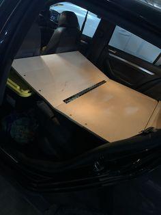 Vw Hatchback, Car Camper, Camper Conversion, Bmw, Ideas, Thoughts
