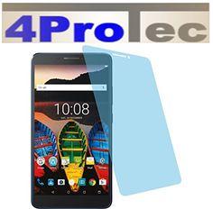 2 Stück GEHÄRTETE ANTIREFLEX Displayschutzfolie für Lenovo Tab 3 7 Plus Bildschirmschutzfolie - http://uhr.haus/4protec/lenovo-tab-3-7-plus-entspiegelt-schutzfolien