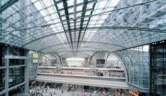 Estação Central de Berlim – Alemanha As estações de trem mais impressionantes do mundo