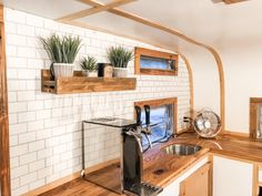 Photos: Vintage tag-a-long camper turns into chic mobile bar in Upstate NY