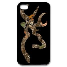 Browning Camo with Bow iPhone 4/4S Case. Inspired by Browning. $17.25, via Etsy.