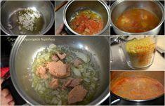 """""""Γιουβέτσι"""" με τόνο (ή άλλο ψαρικό κονσέρβας) - cretangastronomy.gr Beef, Food, Meat, Essen, Meals, Yemek, Eten, Steak"""