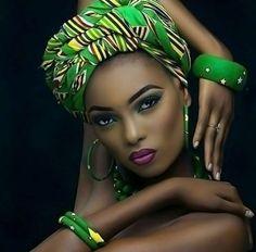47 Trendy Ideas For Fashion African Women Dresses Head Wraps Black Women Art, Beautiful Black Women, Black Girls, Beautiful African Women, Gorgeous Lady, Exotic Women, African Beauty, African Fashion, Ghanaian Fashion