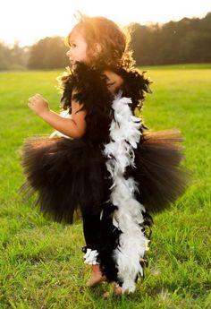 Stinktier Kostüm selber machen | Kostüm Idee zu Karneval, Halloween & Fasching