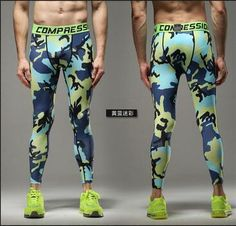 FLASH Leggings 3D Printed Pattern Compression Tights Pants Men 2017 New Arrival Skinny Sweatpants crossfit Fitness Trousers Male