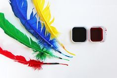 How to make a quill pen - at Babble Dabble Do