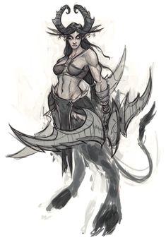 Female Demon Hunter from World of Warcraft: Legion