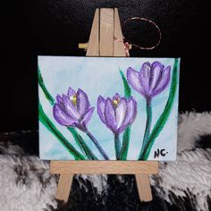 NOT AVAILABLE🎁 Mini tablouri de 1 Martie❤🎨🎨 O primavara frumoasa! 🌼🌼🌼 #minicanvas #acrylics #acrylicpainting #loveart #gifts #spring… Martie, Mini Canvas, Love Art, Spring