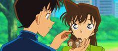 Detective Conan Shinichi and Ran together
