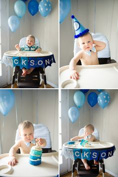Flags Birthday Highchair Decorations First Boy High Chair Ideas