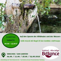 Balance Erlebnisse in #Innichen - Esperienze guidate Balance a #SanCandido